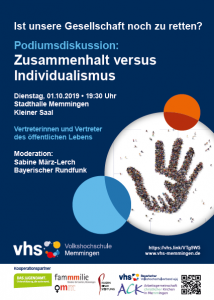 Thumbnail for Podiumsdiskussion: Zusammenhalt versus Individualismus